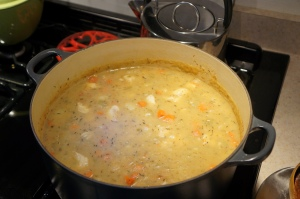Food - fish chowder 3