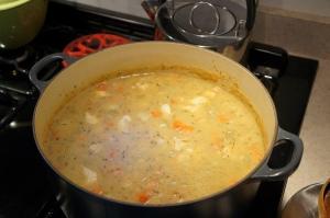 Food - fish chowder 3