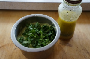 Food - Avocado vegetable sauce