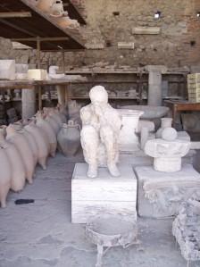 270 pompeii plaster cast