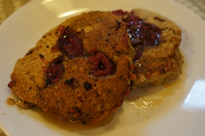 Food - Raspberry Pancakes 1