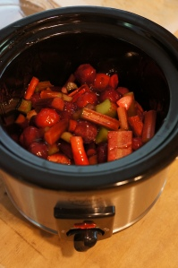 Food - Rhubarb sauce 2