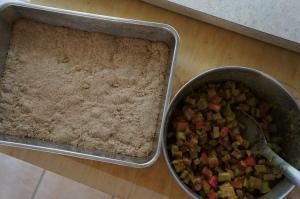 Food - Rhubarb Squares 1