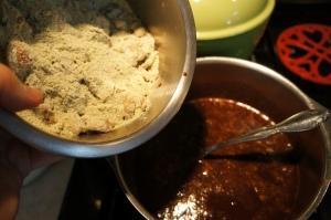 Food - Wheatless Brownies 4
