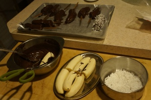 Food - Chocolate Covered Bananas 2
