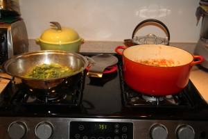 Food - Cooking on the stove