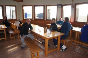 Travel - TMB Refuge Dining Rooms
