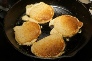 Food - Wheatless Pancakes 1