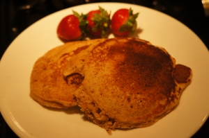 Food - Wheatless Pancakes 2