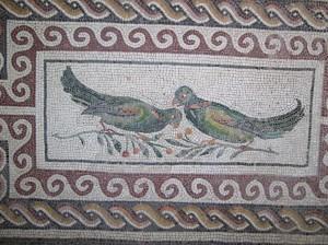 32 mosaic birds