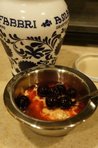 Food - Tapioca with Cherries