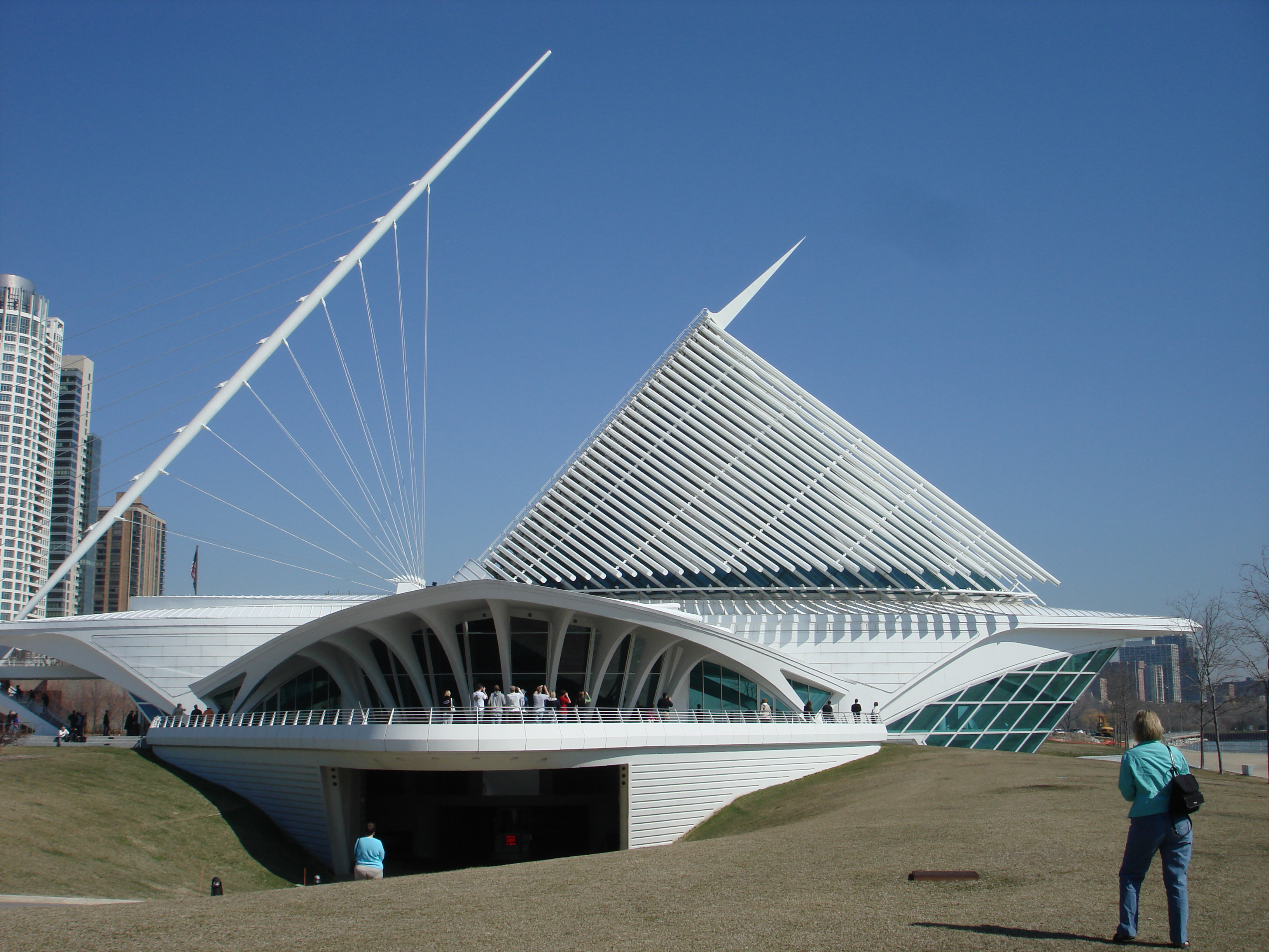 milwaukee art museum architecture pdf
