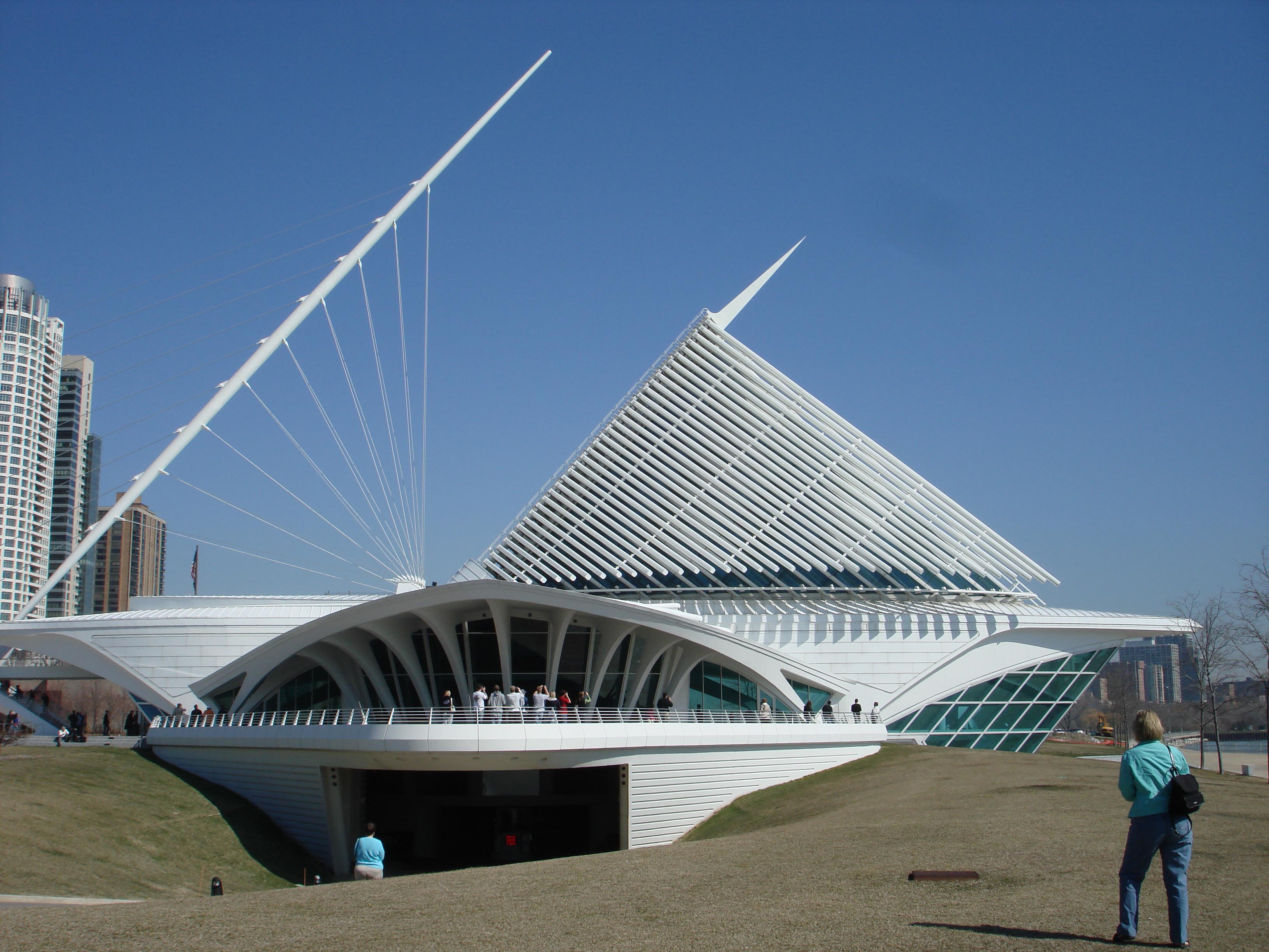 The Milwaukee Art Museum's Calatrava Addition