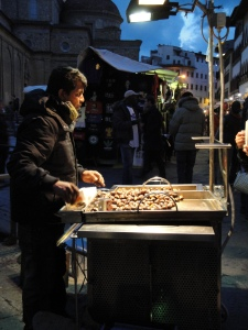 Travel - Chestnut seller