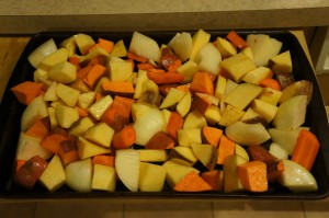 Food - Roasted Vegetables 1