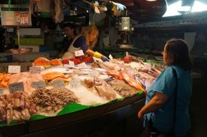 Spain fish seller
